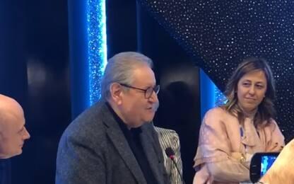 Sanremo, ultimo Festival di Mollica: l'omaggio in sala stampa. VIDEO