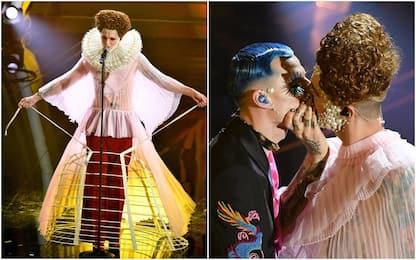 Sanremo, Achille Lauro è la Regina Elisabetta I nella serata finale