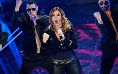 """Sanremo 2020, Sabrina Salerno sul palco con """"Boys"""""""