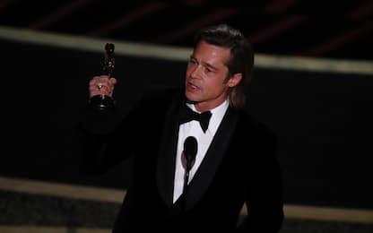 Oscar 2020, Brad Pitt è il miglior attore non protagonista. VIDEO