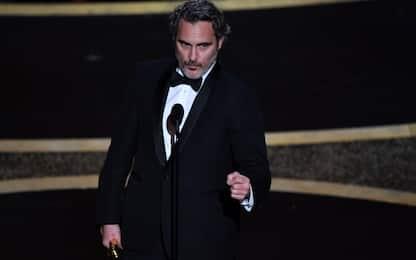 Oscar 2020, Joaquin Phoenix Miglior Attore Protagonista per Joker