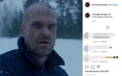 Stranger Things 4, nel trailer riappare Hopper