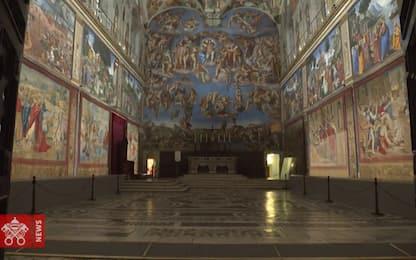 Cappella Sistina, dopo 400 anni esposti i dieci arazzi di Raffaello