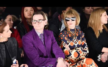 I vip in prima fila ala Milano Fashion Week 2020
