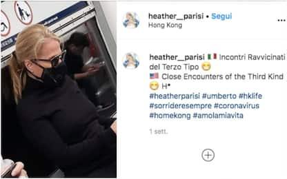 "Heather Parisi e l'emergenza Coronavirus: ""Così si vive a Hong Kong"""