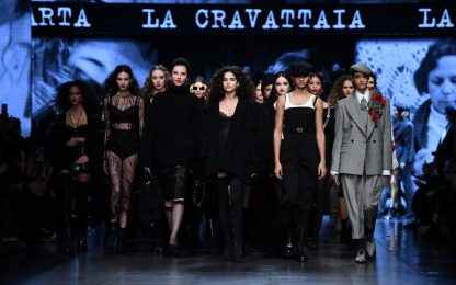 Milano Fashion Week 2020, la sfilata Dolce & Gabbana. FOTO