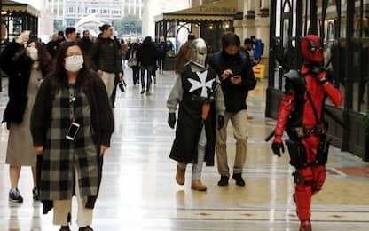 Coronavirus, a Milano poche le maschere per il Carnevale
