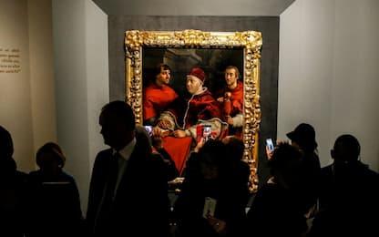 Raffaello in mostra a Roma a 500 anni dalla scomparsa. FOTO