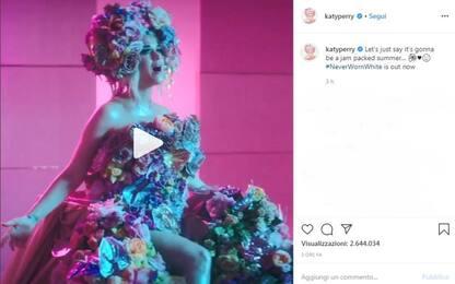 Katy Perry è incinta di Orlando Bloom, l'annuncio su Instagram