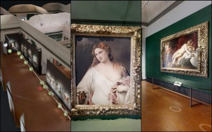 "Coronavirus, ""tour virtuale"" tra le opere degli Uffizi. FOTO"