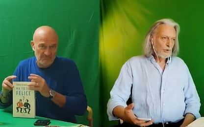 """Bisio-Alberti in """"Ma tu sei felice?"""": il teatro fatto in casa. VIDEO"""