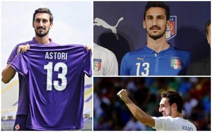 """""""Buon compleanno Davide"""": il calcio ricorda Astori"""