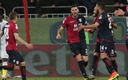 Serie A, Cagliari-Inter 2-1: gol e highlights
