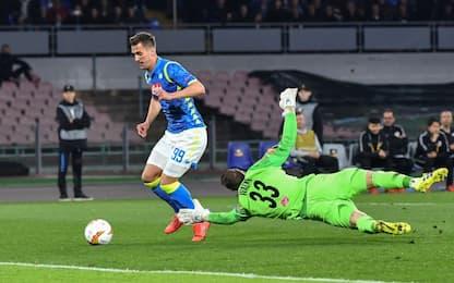 Napoli-Salisburgo 3-0: gli highlights degli ottavi di Europa League
