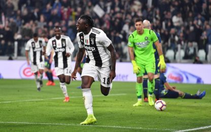 Serie A, Juventus-Udinese 4-1: gol e highlights