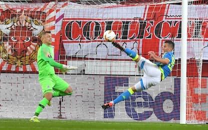 Salisburgo-Napoli 3-1: gli highlights degli ottavi di Europa League