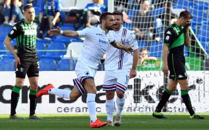 Serie A, Sassuolo-Sampdoria 3-5: gol e highlights