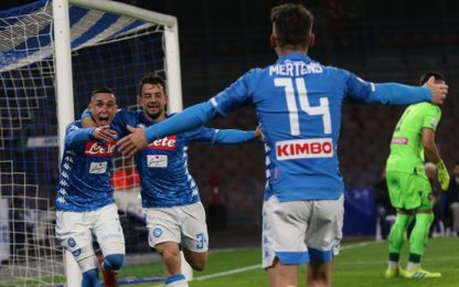 Serie A, Napoli-Udinese 4-2: gol e highlights