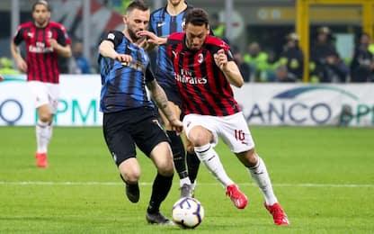 Serie A, Milan-Inter 2-3: gol e highlights