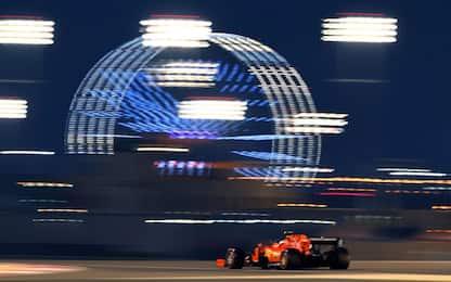 Formula 1, la griglia di partenza del GP del Bahrain: Ferrari prime