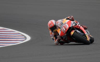 Moto Gp: in Argentina vince Marquez davanti a Valentino Rossi