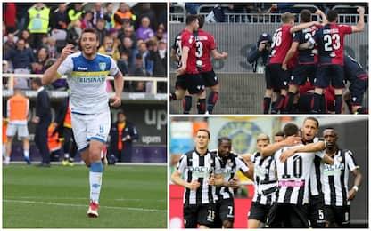 Serie A, vincono Frosinone, Cagliari e Udinese: gol e highlights