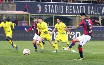 Serie A, Bologna-Chievo 3-0: gol e highlights