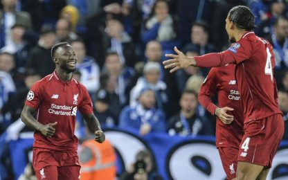 Champions League, Liverpool-Porto 2-0: gol e highlights dei quarti