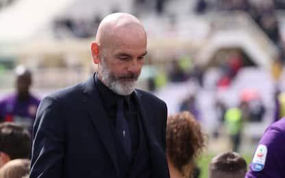 Fiorentina, l'allenatore Stefano Pioli si è dimesso