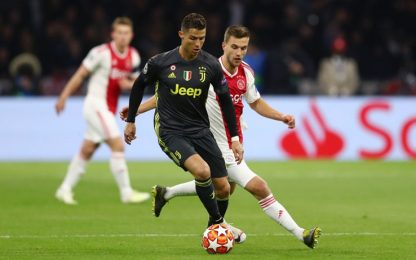 Champions League, Ajax-Juventus 1-1: gol e highlights