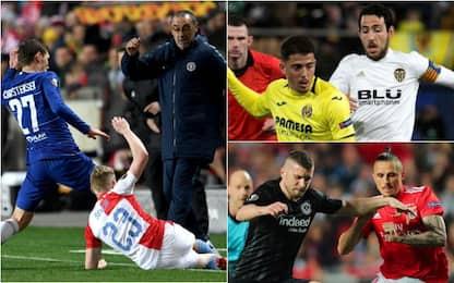 Europa League, quarti di finale: gol e highlights