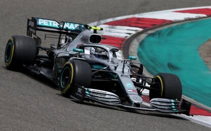 Formula 1: pole di Bottas in Cina, terza la Ferrari di Vettel