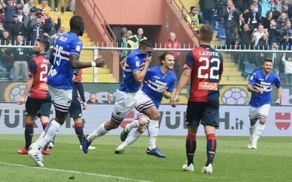 Serie A, Sampdoria-Genoa 2-0: gol e highlights