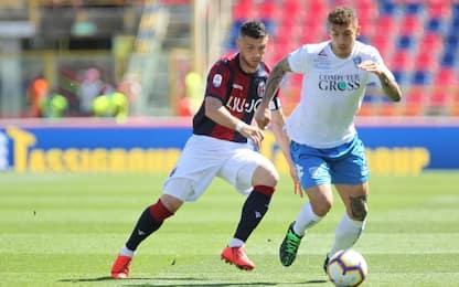 Serie A, Bologna-Empoli 3-1: gol e highlights