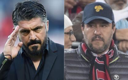 """Gattuso risponde allo sfogo di Salvini: """"Milan vergognoso, colpa mia"""""""