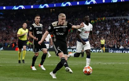 Champions League, Tottenham-Ajax 0-1: gol e highlights