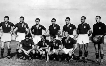 Il Grande Torino scomparso nella tragedia di Superga del 1949
