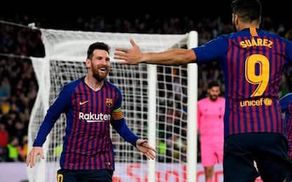 Champions League, Barcellona-Liverpool 3-0: gol e highlights