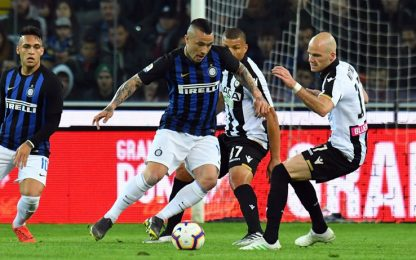 Serie A, Udinese-Inter 0-0: highlights