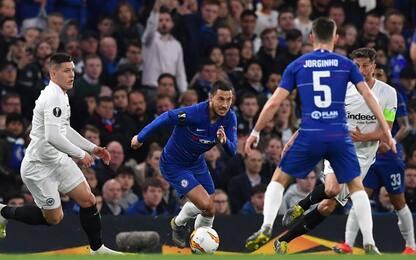 Europa League, Chelsea-Eintracht  5-4 d.c.r : gol e highlights