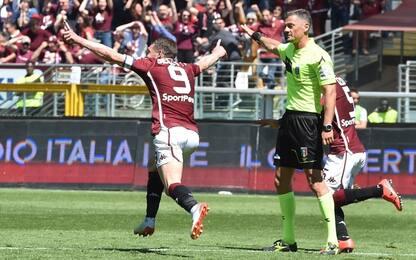 Serie A, Torino-Sassuolo 3-2: gol e highlights