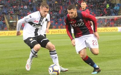 Serie A, Bologna-Parma 4-1: gol e highlights