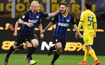Serie A, Inter-Chievo 2-0: gol e highlights