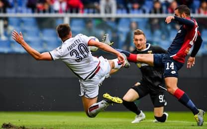 Serie A, Genoa-Cagliari 1-1: gol e highlights
