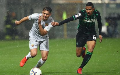 Serie A, Sassuolo-Roma 0-0: highlights