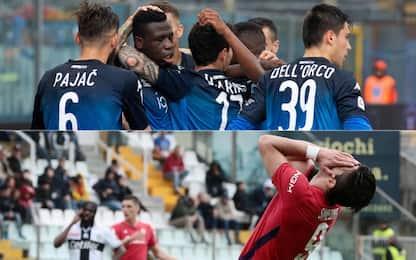 Serie A, Empoli-Torino 4-1 e Parma-Fiorentina 1-0: gol e highlights