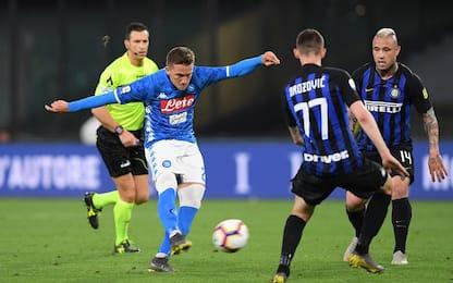Serie A, Napoli-Inter 4-1: gol e highlights