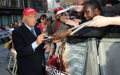 Addio Niki Lauda, protagonista anche nel cinema
