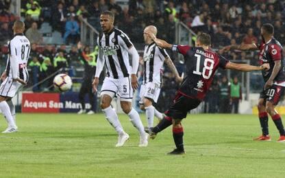 Serie A, Cagliari-Udinese 1-2: gol e highlights