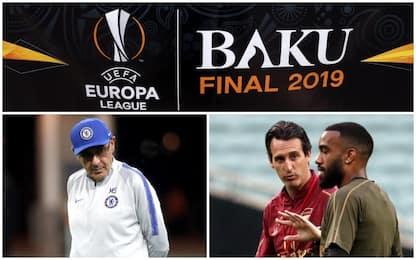 Europa League, la finale a Baku tra Chelsea e Arsenal